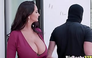 Mom Ava Addams catchet and drilled to panty bandit