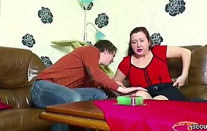 German Young manhood Seduce Step-Mom to get First Be thrilled by