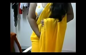 Horny chunky boobs Telugu aunty having fun