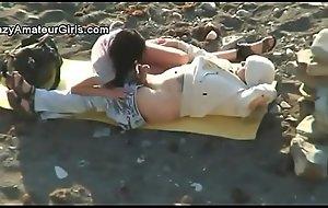 mediocre beach return voyeur span filming