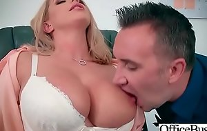 Sex In Office With Big Round Tits Girl (Brooklyn Chase) video-08