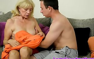 Foreplay fond grandma rides younger weasel words