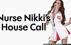 Brazzers - Doctor Adventures - Nurse Nikkis House Tempt scene starring Nikki Benz &amp_ Markus Dupree