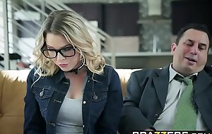 Brazzers - Teens Get pleasure from It Big - Show My Dad Whos Brass hats scene starring Aubrey Sinclair and Sean Lawless