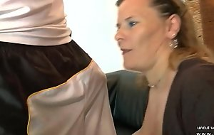 Amateur bbw french mature sodomized double permeated fisted n facialized