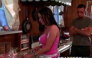Brazzers - Mommy Got Boobs -  Have A Slice Be advantageous to My Poon-Tang Pie scene starring Vanilla Deville added to Ke