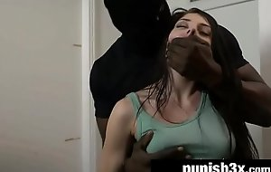 Teen Megan Sage Screwed By BBC Despatch-rider