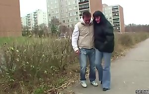 Young Boy Seduce MILF exotic the Street to get First Fuck