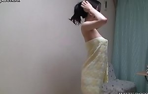 Shower Time for Japanese Busty Legal age teenager