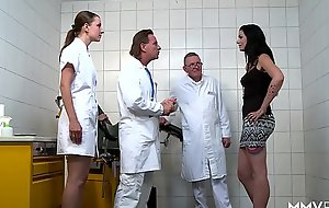 German Milf acquires antidote from the Doctor