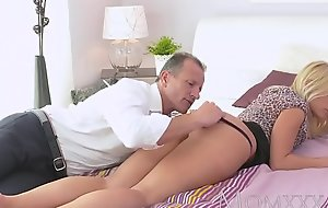 www.elation.ga     :Mom bonny blonde milf has her perfect tanned flock  ucked