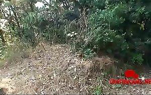Outdoors Japanese Asian Schoolgirl Deepthroat Oral sex