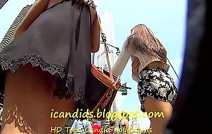 Best Teen Upskirt Calvin Klein Thong ! @ www.teencandidspy.com