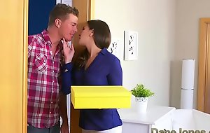 Dane Jones Cheating brunette join in matrimony is screwed added to creampied at the end of one's tether plumber