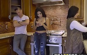 Brazzers - Baby Got Heart of hearts -  Along to Liar, Along to Bitch And Along to Caparison instalment cash reserves Aaliyah Hadid and S