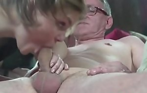 Young Adam hooker cumswaps forth old guy