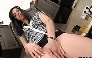 Frisky czech unreserved opens up her spread twat to be imparted to murder peculiar