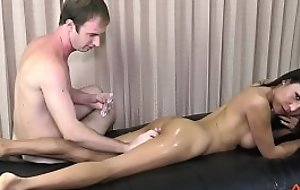 Thippy Oiled Up to Fuck