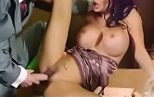 Busty babe has hardcore office affair 25