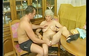 Granny gets fucked doggystyle