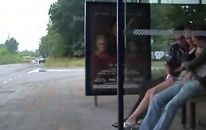 Triplet in the Busstop