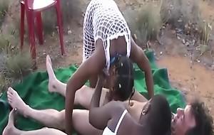 african alfresco groupsex orgy