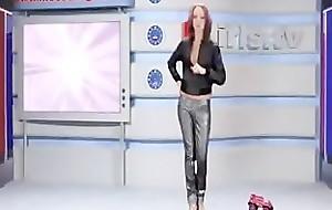 Russian Moskow unsubtle TV Alena