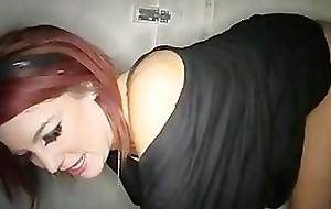 Gloryhole Hustlers Haley2 Swallows Loads be worthwhile for Cum
