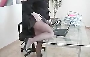 Scrimshaw Slut Debilitating Seamless Starless Pantyhose Fingers Pussy elbow