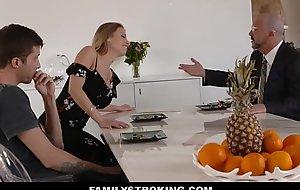 Bonking My Stepdad porn flick Sexy Breast-feed Britney Amber