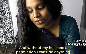Bored Indian fuck movie Housewife begs for threesome in Hindi relative to Eng subtitles