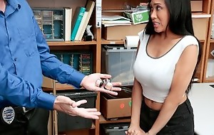 Shoplyfter - Asian Teen strip searched and Drilled