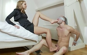 Russian juvenile goddess-Business son