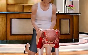 [ Honey Girl 3D ] Ep.02 Juvenile unladylike and granpa