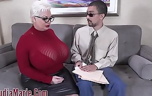 Jumbo Tit Fat Irritant Claudia Marie Fucked By Accountant