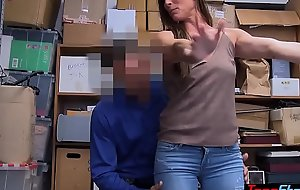 Skinny MILF robber copulates an officer for will not hear of immunity