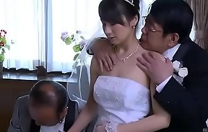 Asian Milf wife obtain essential clothes by Mr Big brass in front of her husband - ReMilf.com