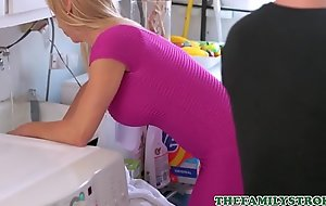 Off colour Festival MILF Step Mom Alexis Fawx Fucked Forth Orgasm By Step Son Near Laundry Room