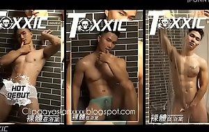 Toxxic magazine , model Thien Siro