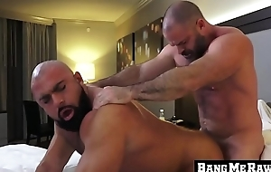 Daddy Bishop Angus fucks the raw ass be proper of Steven Roman