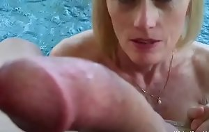 Blowjob From My Step Granny