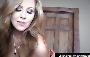 Obtain Your Cock Sucked Overwrought Milf Julia Ann Down This POV Fantasy!