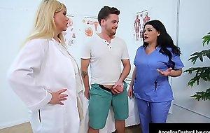 Big Dr Dick Suckers Angelina Castro &amp_ Karen Fisher Cure Cock