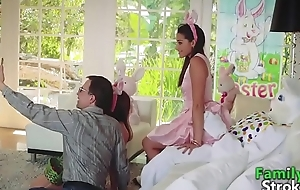 Innocent Teen Birth'_s Pascua Bunny Fucking: Full HD FamilyStroke.net