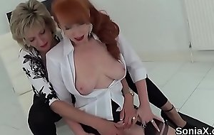 Unfaithful british mature lady sonia shows her monster tits