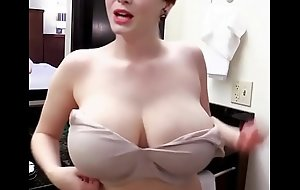 Christina Hendricks stripping (fake)