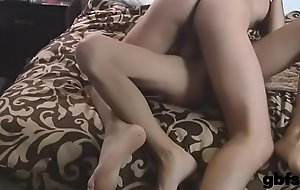 Homo with large cock fucks lover