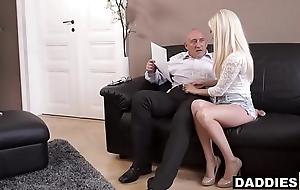Stunning Hungarian Babe Fucks Her Boyfriend'_s Experienced Dad