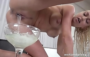 Tons gallons of sperm volley revel in say no to elegant slit opening after creampies