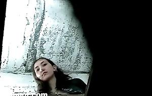Nautical stick on water-closet eavesdrop cummy sweeping